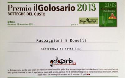 Premio il Golosario 2013